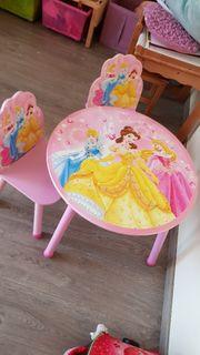 Disney Prinzessin Tisch mit 2