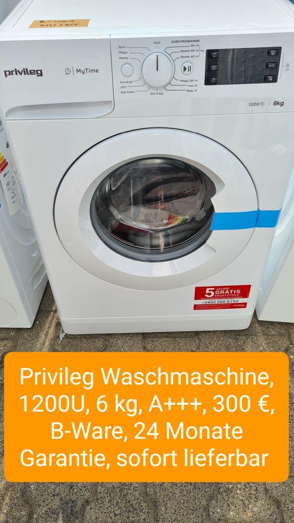 Privileg Waschmaschine 1200U 6kg A