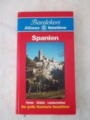 Reiseführer SPANIEN von BAEDEKER ältere