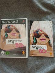 Singstar 80s Playstation 2 inkl