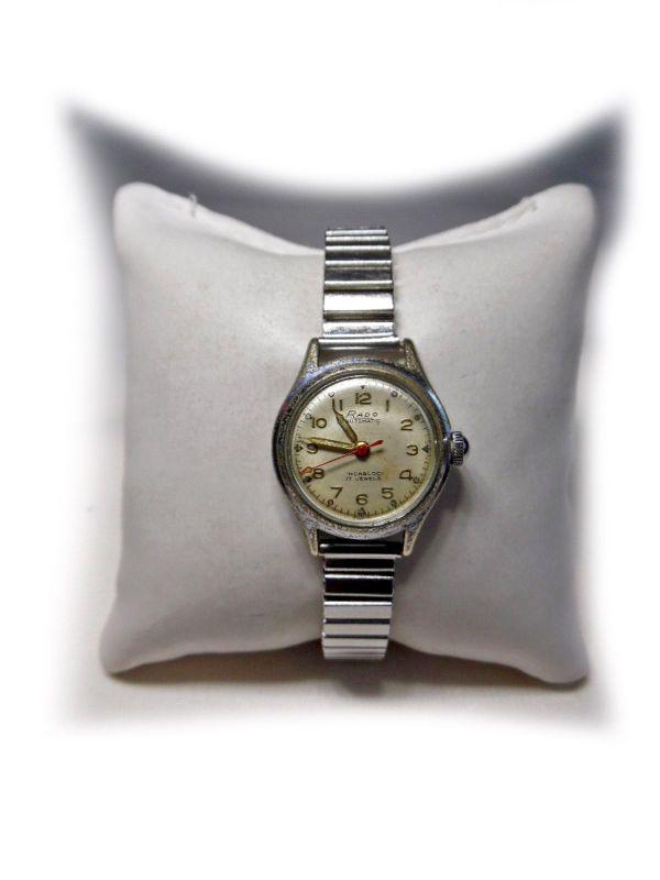 """Armbanduhr von Rado Automatic - Nürnberg Wetzendorf - Armbanduhr von dem schweizer Traditionshersteller """"Rado"""".Die Uhr wurde getragen, daher befinden sich auch paar Gebrauchsspuren an der Uhr.Voll funktionsfähig.Eigenschaften:Gehäuse: Stahl (Stainless Steel Back), Incabloc, Antimagne - Nürnberg Wetzendorf"""