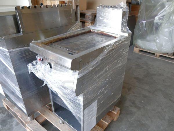 Bartscher Grillplatte Bratplatte Gasgrillplatte Multibräter