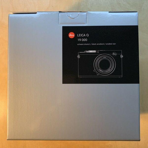 Leica Q, Typ 116, 24. 2 MP Digitalkamera - Schwarz