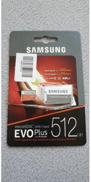 Verkaufe 512 GB Micro SDXC-I