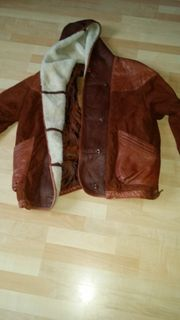 1 Marken Winter Leder Jacke