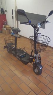 Escooter mit Strassenzulassung