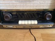 Alter Grundig Radio