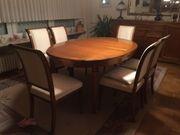 Selva Villa Borghese Stühle und Esszimmertisch