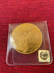 Goldmünze 4 Dukaten Österreich 1915