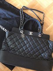 Chanel Handtasche Tasche schwarz Bi