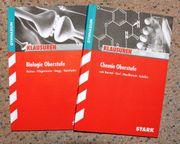 bio und chemie klausuren oberstufe