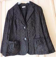 Jacke Farbe schwarz - Größe 48 -