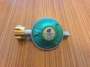 Gasregler TAINO Druckminderer 50mbar Neuwertig