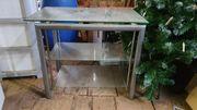 Fernsehtisch Hi-fi Tisch aus Glas