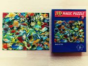 3D Magic Puzzle World of
