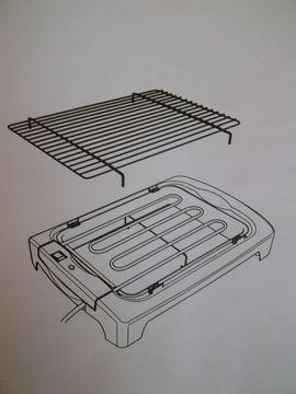 Küchenherde, Grill, Mikrowelle - Neuer Tischgrill mit Füßen Barbeceu