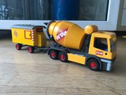 playmobil Bau-Mischer mit Anhänger 3263 -