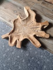 Große Dekoholzschale aus einem Baum