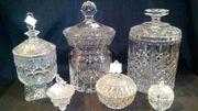 Baleikristall, Glas, Keramik,