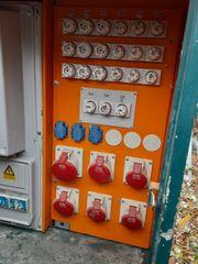 Baustromverteiler Stromverteiler
