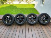BMW Winterkompletträder 385 schwarz 17
