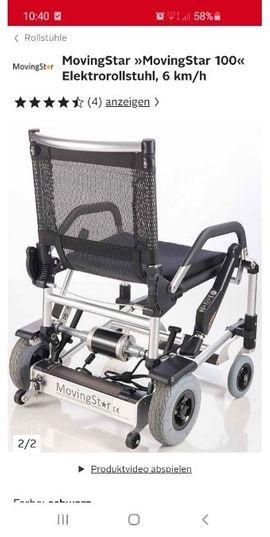 Medizinische Hilfsmittel, Rollstühle - movingStar elektrische Rollstuhl