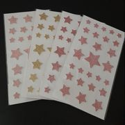 2D Sticker 4x27 Stück - Sterne