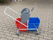 Komplett Set Putz-Reinigungswagen mit Presse