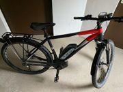 Cube E Bike und Thule