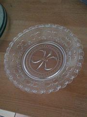 Salatteller 17 Teller Glasteller Kuchenteller