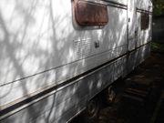 Wohnwagen Bürstner mit viel Platz -