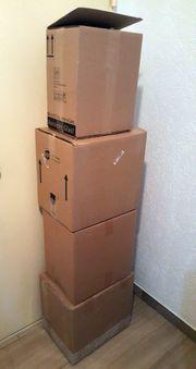 4 Flaschen Umzugs-Kartons