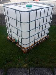Winter-Preis 1000 liter Wassertank neuwertig