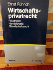 Ernst Führich Wirtschaftsprivatrecht