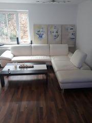 Couch W Schillig Echtleder