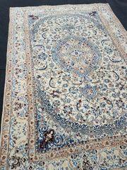 Antiker seltene Nain Teppich 290