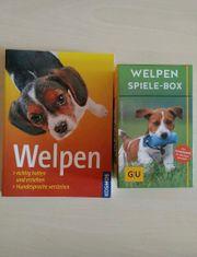 Welpen Buch und Welpen Box