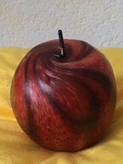 Duftkerze Apfelkerze Handgeknetet