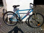 Fahrrad 27 Blau LX Schaltung