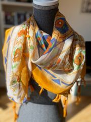 Tücher Schals jeweils 6