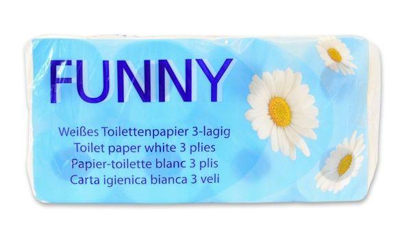 Toilettenpapier 3-lagig 250 Blatt 8