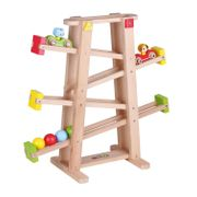 Holzkugelbahn für Kinder 55 cm