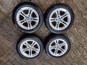 4-Orig-BMW-ALU Sommerräder-Goodyear-205-55-R16-91V-3er-E90-E91