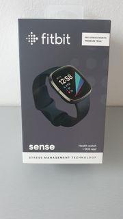neue Fitbit Sense Carbon Graphite