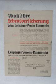 Leipziger Verein Barmenia Werbung 1936