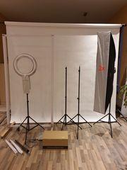 Fotostudio inkl Equipment