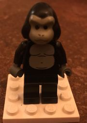 Lego Minifigur Gorilla Kostüm