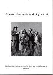 1996er Jahrbuch des Heimatvereins Olpe