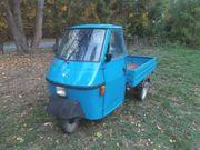 Ape 50 Piaggio grün Tuktuk