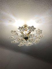 Hochwertige florale Schlafzimmerlampe 2 Nachttischlampen